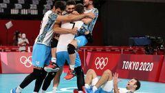 Италия и Польша выбыли из мужского волейбольного турнира в Токио