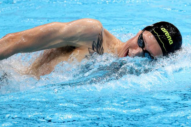 Немец, проигравший Романчуку серебро, выиграл марафонский заплыв на 10 км