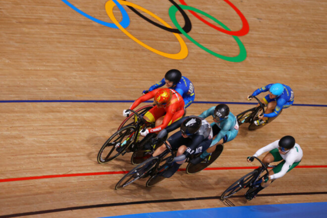 Велотрек. Старікова і Басова не зуміли взяти медалі
