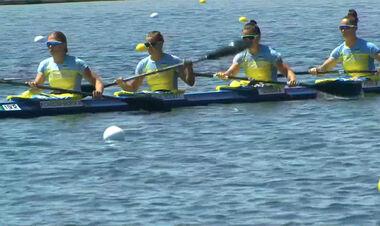 Байдарка провалена. Украинки в четверке заняли последнее место в полуфинале