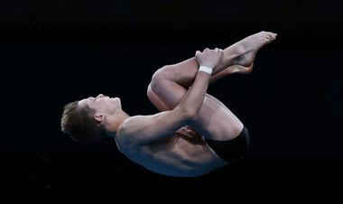 15-летний Середа занял шестое место по прыжкам в воду