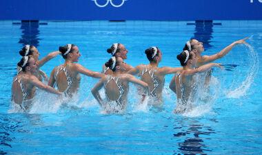 Артистическое плавание. Украинки с шикарным выступлением взяли бронзу