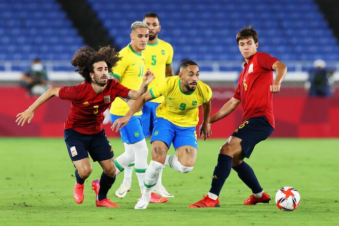 Бразилия – Испания – 2:1. Текстовая трансляция матча