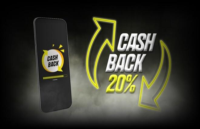 Кешбек до 20% для BetGames на портале БК Parimatch