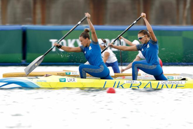 Лузан і Четверікова виграли срібло Олімпійських ігор у каное-двійці