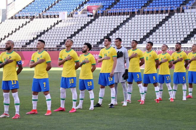 Бразилия – Испания. Финал ОИ по футболу. Смотреть онлайн. LIVE трансляция
