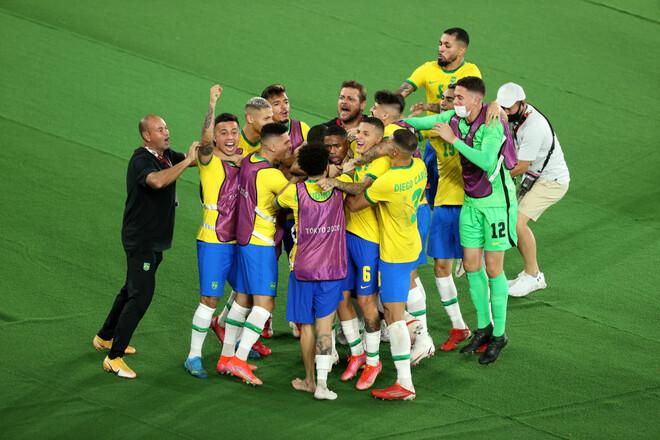 Успешная защита титула. Бразилия - футбольный победитель Олимпиады в Токио!