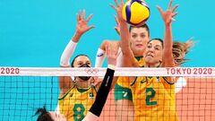 В финале женского волейбольного турнира сыграют Бразилия и США