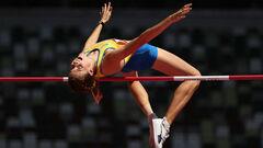 ОИ-2020 Прыжки в высоту. Магучих, Левченко, Геращенко. Текстовая трансляция