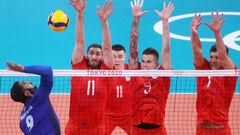 Сборная Франции - олимпийский чемпион по волейболу