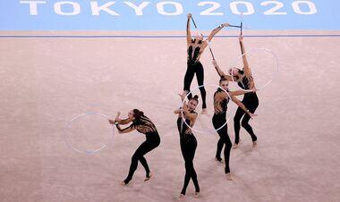 Украинские гимнастки заняли 7 место в командном многоборье