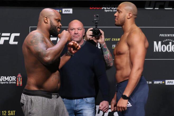 UFC 265: Деррик Льюис – Сирил Ган. Смотреть онлайн. LIVE трансляция