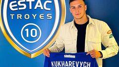 Кухаревич дебютировал за Труа в матче против ПСЖ