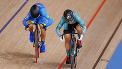 Велотрек. Старікова виграла перший півфінальний заїзд
