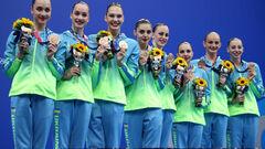 Повний медальний залік ОІ. Україна в результаті 44-та з 19-ма нагородами