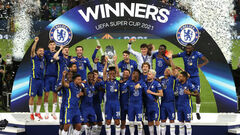 ВИДЕО. Дикие танцы: как Челси праздновал победу в Суперкубке УЕФА