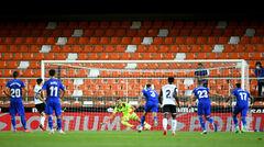 ВИДЕО. Солер забил пенальти. Валенсия переиграла  Хетафе на старте Ла Лиги