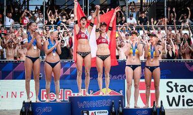 В женском Евро-2021 по пляжному волейболу победила пара из Швейцарии