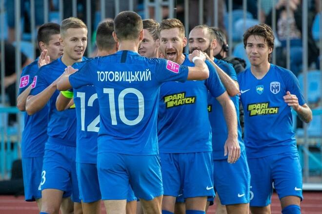 Десна – СК Днепр-1 – 2:1. Лидер снова побеждает. Видео голов и обзор матча