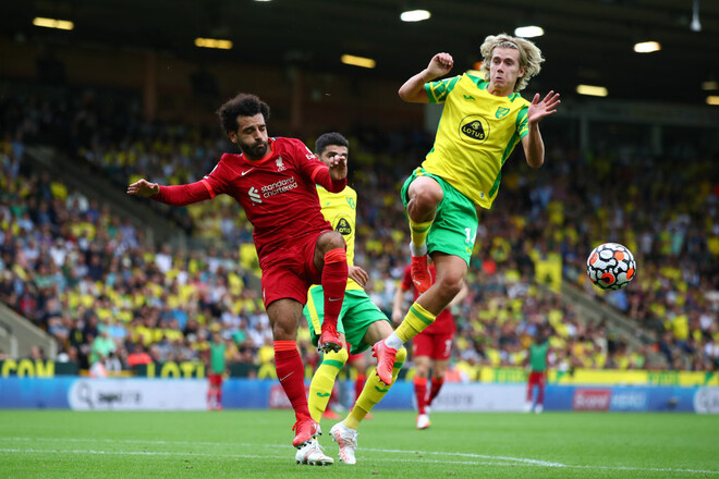 Норвич – Ливерпуль – 0:3. Видео голов и обзор матча