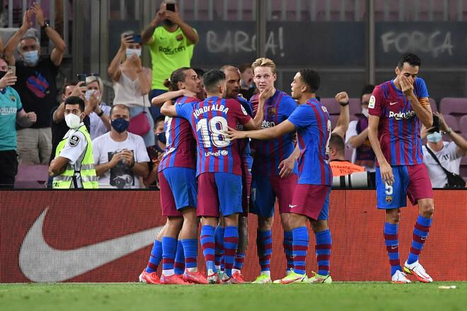 Барселона – Реал Сосьедад – 4:2. Видео голов и обзор матча