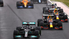 Формула-1 в 2021: Хэмилтон и Ферстаппен, Норрис на уровне топов и Феррари