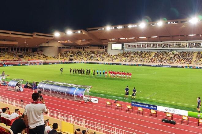 Монако – Шахтер – 0:1. Текстовая трансляция матча