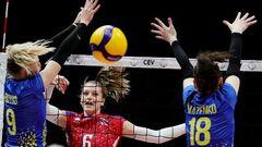 Женский Евро-2021 по волейболу. Календарь и результаты