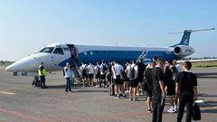 Заря вылетела в Австрию на матч с Рапидом