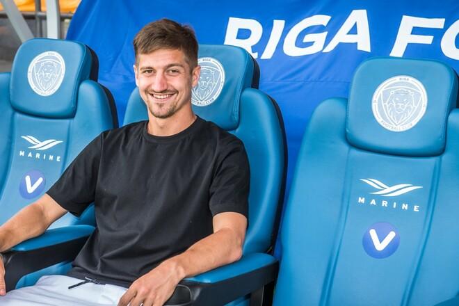 Украинский джокер: Вакулко забил за Ригу в матче Лиги конференций