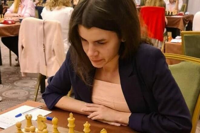 Українська шахістка Осьмак стала віце-чемпіонкою Європи