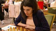 Украинская шахматистка Осьмак стала вице-чемпионкой Европы