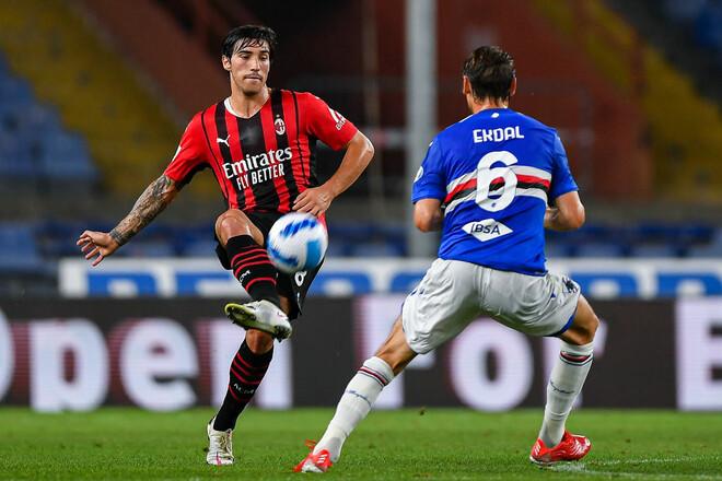Сампдория – Милан – 0:1. Видео гола и обзор матча