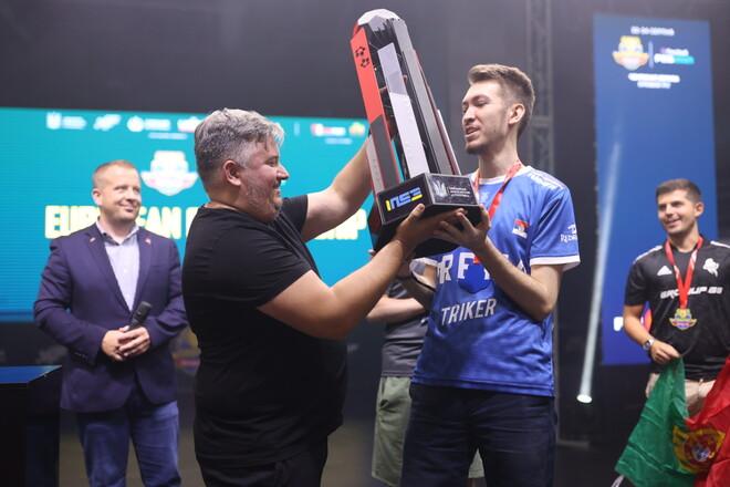 Сербия - чемпион Европы по киберфутболу 2021