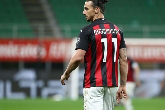 ВИДЕО. Ибрагимович забивает красивые голы на тренировке Милана
