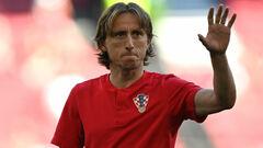 Модрич не поможет Реалу в матче с Бетисом