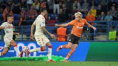Шахтер забил самый поздний для украинских клубов гол в еврокубках