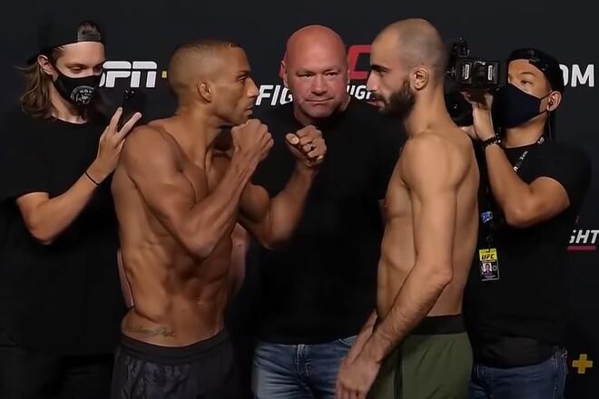 UFC: Эдсон Барбоза – Гига Чикадзе. Смотреть онлайн. LIVE трансляция