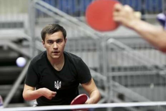 Май став бронзовим призером Паралімпіади в настільному тенісі