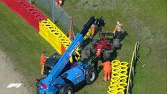 Пятница на Гран-при Бельгии. Ферстаппен и Леклер разбили болиды