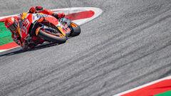 ВИДЕО. Гонщик MotoGP Маркес упал с мотоцикла на скорости 270 км/ч