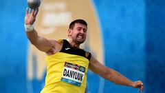 Украинец Данилюк завоевал серебро в толкании ядра