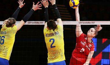 Жіноча збірна України залишає чемпіонат Європи