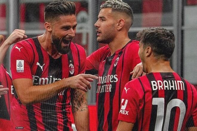 Серия А. Рома уничтожила Салернитану, Милан не оставил шансов Кальяри