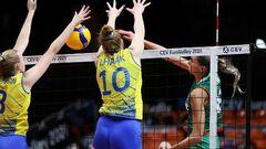 Нидерланды и Швеция вышли в 1/4 финала женского Евро по волейболу