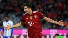 Бавария – Герта – 5:0. Видео голов и обзор матча