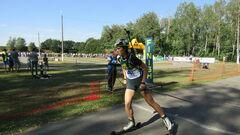 ЛЧМ-2021 по биатлону. Дмитренко финишировала восьмой в преследовании