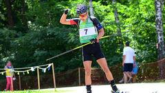 ЛЧМ-2021 по биатлону. Кинаш занял 6 место в персьюте