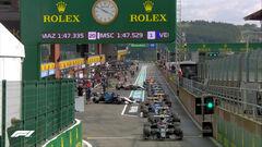 Формула-1. Гран-при Бельгии. Большой дождь смыл гонку. Текстовая трансляция