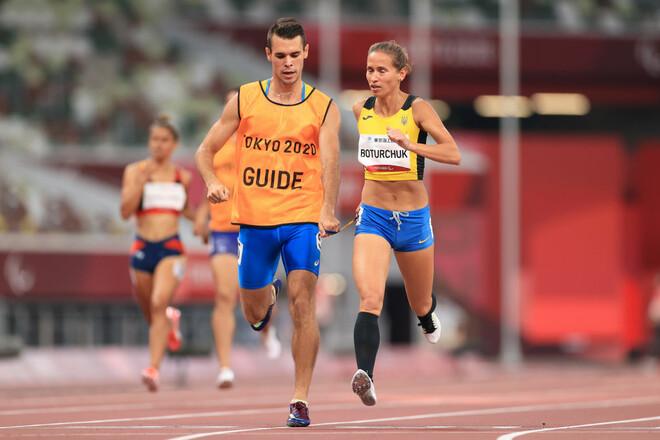 Украинка Ботурчук завоевала серебро Паралимпиады в беге на 400 метров